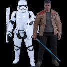 Star Wars Finn And First Order Riot Stormtrooper Set