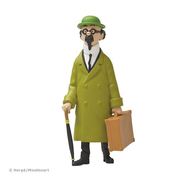 Schlüsselanhänger Bienlein mit Koffer Tintin Tim /& Struppi