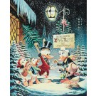 Carl Barks Lithographie A Christmas Trimming
