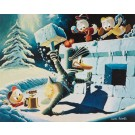 Carl Barks Lithographie A Hot Defense