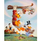 Carl Barks Lithographie Flubbity Dubbity Duffer
