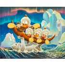 Carl Barks Lithographie Luck Of The North