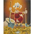 Carl Barks Lithographie Pick And Shovel Laborer