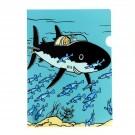 Tim und Struppi Klarsichthülle A4 Haifisch U-Boot