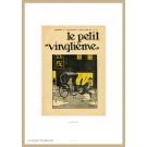 Tim und Struppi Lithographie Le Petit Vingtième Rikscha