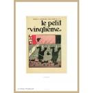 Tim und Struppi Lithographie Le Petit Vingtième Schulzes
