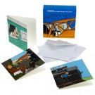 Tim und Struppi Set mit 8 Mini-Postkarten 7,5 x 7,5 cm