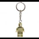 Lego Goldener Figur-Schlüsselanhänger 850807