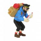 Tim und Struppi PVC-Figur Haddock mit Flasche (groß)
