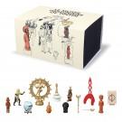 """Tim und Struppi Set """"Le musée imaginare de Tintin"""""""