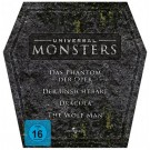 Universal Monsters Grabstein-Box mit 4 DVDs