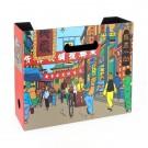 Tim und Struppi Ordnerbox Straßen von Shanghai