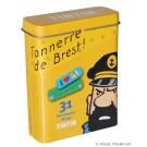 Tim und Struppi Pflaster-Dose gelb