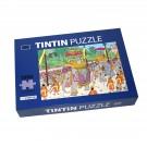 Tim und Struppi Puzzle & Poster Der königliche Elefant