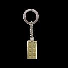 Lego Goldener Stein-Schlüsselanhänger 850808