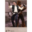 Star Wars Han Solo & Chewbacca Set Hot Toys