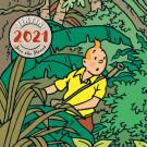 Tim und Struppi Wandkalender 2021 (EN, FR, NL, SP)
