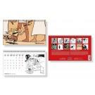 Tim und Struppi Tischkalender 2022 (EN, FR, NL, SP)