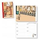 Tim und Struppi Taschenkalender 2022 (EN, FR, NL, SP)