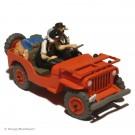 Tim und Struppi Atlas Auto 7 Der Willys Jeep