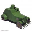 Tim und Struppi Atlas Auto 37 Der Panzerwagen