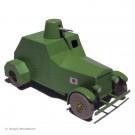 Tim und Struppi 2te Serie Atlas Auto 23 Der Panzerwagen