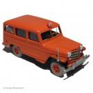 Tim und Struppi 2te Serie Atlas Auto 21 Feuerwehr Jeep