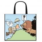 Tim und Struppi Kunststofftasche Kongo 45 x 38 cm