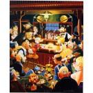 Carl Barks Lithographie Der Klondike Nugget