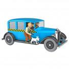 Tim und Struppi Auto 7 Taxi Checker aus Chicago 1:24