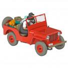Tim und Struppi Auto 6 Der rote Willys Jeep 1:24