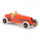 Tim und Struppi Auto 1 Der rote Rennwagen 1:24