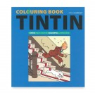 Tim und Struppi Malbuch Colouring Book blau (EN)