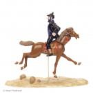 Tim und Struppi Haddock auf Pferd