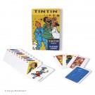 Tim und Struppi Kartenspiel Familie