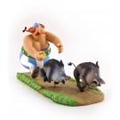 Asterix Obelix jagd Wildschweine