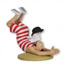 Tim und Struppi Schulze im Badeanzug (Figurines Tintin 55)