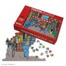 Tim und Struppi Puzzle & Poster Shanghai