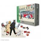 Tim und Struppi Puzzle & Poster Swissair-Bus