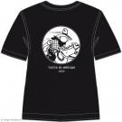 Tim und Struppi T-Shirt Tim Cowboy schwarz Größe XL