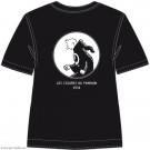 Tim und Struppi T-Shirt Tim in Robe schwarz Größe S