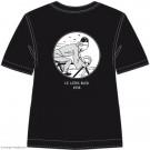 Tim und Struppi T-Shirt Tim Fahrrad schwarz Größe L