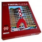 Tim und Struppi Puzzle Rakete in Basis 1000 Teile