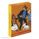 Tim und Struppi Quartett orange Familie 2