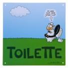 """Nichtlustig Toilettenschild """"Kann nicht"""""""
