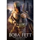 Star Wars Boba Fett 1/4 Premium Figur 65 cm