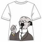 Tim und Struppi T-Shirt Professor Bienlein Größe 10
