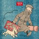 Tim und Struppi Mini-Wandkalender 2016