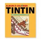 Tim und Struppi Malbuch Album à colorier gelb (FR)