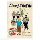 Tim und Struppi Poster Lisez Tintin